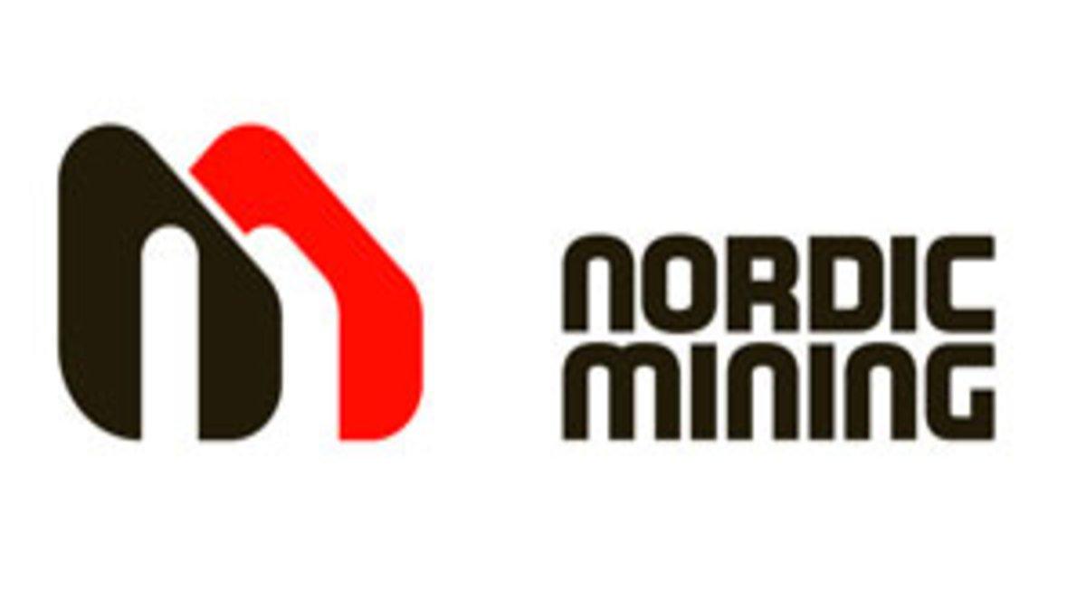 Teknisk analyse av Nordic Mining nom aksjen logo