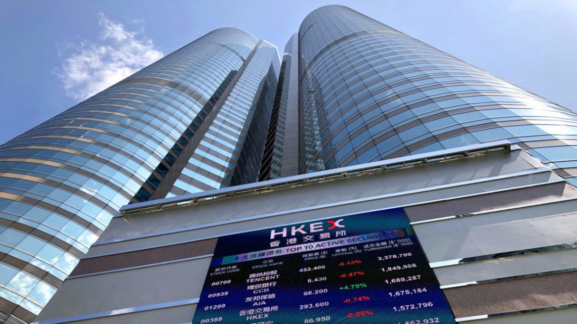 kurtasjefri Aksjehandel på Hong Kong Stock Exchange aksjer hongkongbørsen